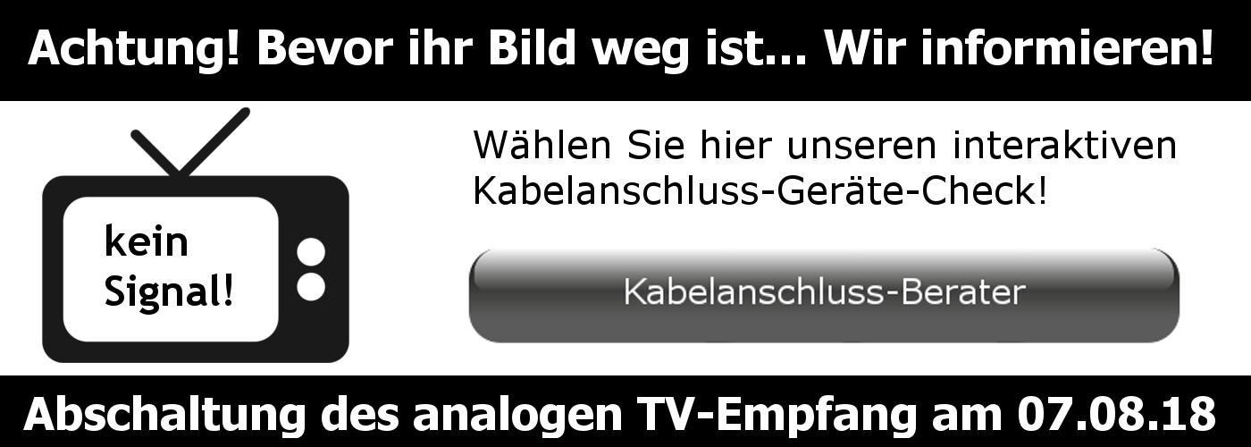 Kabel analaog Abschaltung Vodafone Bremen Niedersachsen Digitalumstellung
