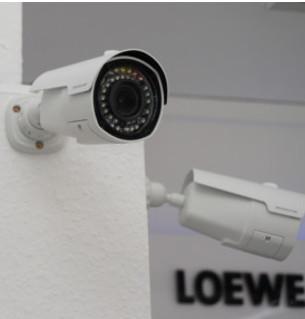 AHD-Kamera mit Vario-Objektiv IP66 Wetterschutz