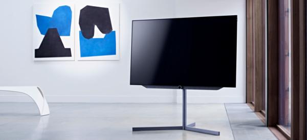 loewe led tv made in germany design. Black Bedroom Furniture Sets. Home Design Ideas