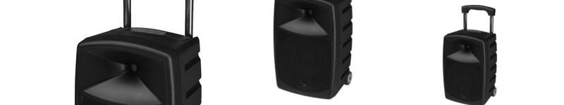 mobile Beschallungs-Anlagen mit Funkmikrofon und  Bluetooth-Streaming